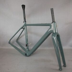 NEW All Internal cable Gravel Bike Full Carbon Frame Bicycle paint PT444C GR040