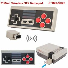 2 Wireless Game Controller GamePad For Nintendo Mini Classic Edition NES Console