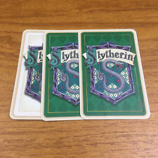 Harry Potter & The Philosophers Stone Trivia Game 3 Slytherin Cards Spare Parts