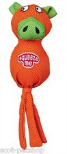 NEW Squeaky Pig Polyester Ball Dog Toy Orange 30 cm