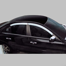 Chrome Window Visor Vent 4pc For 2007 2009 Chevy Lacetti 5d : Optra