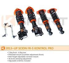 Ksport Kontrol Pro Coilovers Shocks Springs for Scion FR-S / Subaru BRZ 12-16