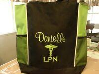"ANGEL ID LANYARD-Rhinestone Silvertone-RN Nurses LVN Mothers-Teachers 30/"""