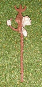 VINTAGE STAR WARS REPRODUCTION STAFF FOR AMANAMAN LAST 17 POWER OF THE FORCE
