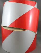 Red/White Class 2 Reflective Tape 100mm x 45m