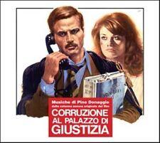 Pino Donaggio: Corruzione Al Palazzo Di Giustizia (New/Sealed CD)