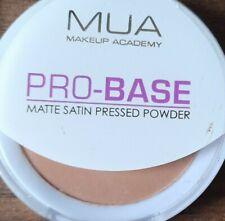 SEALED MUA MAKE UP ACADEMY PRO BASE MATTE SATIN SMOOTH PRESSED POWDER DEEP FAWN