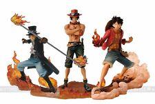Anime One Piece DXF Brotherhood II Luffy Sabo Ace 3pcs PVC Figure New in Box