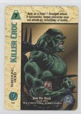 1996 Overpower Collectible Card Game - DC Expansion Set Base #BM Killer Croc 0b5