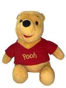 "Disney Winnie the Pooh Plush 16"" Talking Bear Vintage Mattel 1994 Tested"