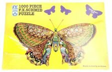 1995 F.X. Schmid Whimsical Butterfly 1000 Piece Jigsaw Puzzle