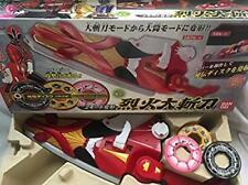Used Power Rangers SAMURAI Shinkenger Rekka Daizantou Bandai Anime Free Shipping