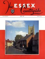 (P) ESSEX COUNTRYSIDE MAGAZINE #63 VILLAGE STREET AT DEDHAM, STORY OF BRADWELL