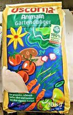 Oscorna,Animalin Gartendünger,für Obst und Gemüse, 20 kg