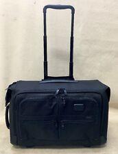 TUMI ALPHA 2 LUGGAGE 22037D2 BLACK WHEELED CARRY ON GARMENT BAG (#811)
