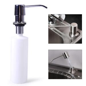 Bad Küche Spüle Seifenspender Einbau Flüssigkeit Spender Soap Lotion Dispenser