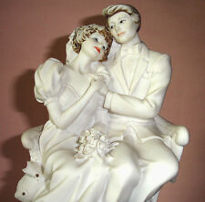 Giuseppe Armani BRIDE & GROOM Garden Wedding Porcelain Figurine #0189F Italy New