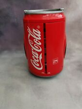 More details for coca cola c303 micro tower radio cassette player - working