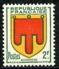TIMBRE FRANCE NEUF N° 837 ** BLASON AUVERGNE
