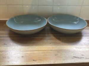 Denby - Heritage - Terrace - Pasta Bowls X2 BRAND NEW