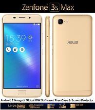 """ASUS Zenfone 3S MAX zc521tl 5.2 """"DUAL SIM ANDROID 7 SMARTPHONE OCTA CORE 32GB"""