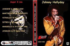 "DVD Johnny Hallyday super 8 avec petite partie "" johnny Circus """