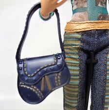 Barbie My Scene Fashion Accessory Blue Handbag Purse