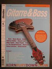 Guitarra & Bass 2002 # 6-Korn Steve Morse down Hellmut Hattler Deep Purple