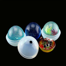1set 3D Round Ball Silicone mold diy Making Resin Casting Mould Craft Tool