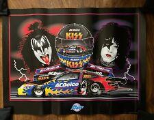 Sam Bass KISS NHRA Pro Stock Kurt Johnson Design Print 18x24 Gene Simmons Paul S