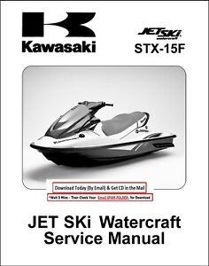Kawasaki Boat Watercraft Repair Manuals Literature For Sale Ebay