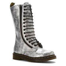 Dr. Martens Women's 9733 2 zip 1B99 Style Silver Jewel US 8  EU 39 UK 6 LAST!!!