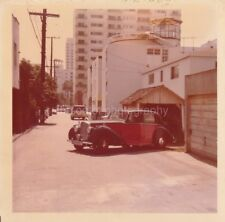 Classic Car FOUND PHOTO Color FREE SHIPPING Original Snapshot VINTAGE 810 35 D