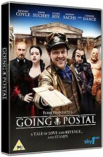 GOING POSTAL - Terry Pratchett David Suchet Brand New and Sealed Region 2 UK DVD