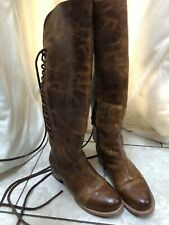 Freebird Stag Cognac Boots Size 7