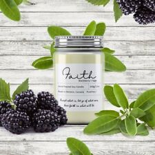 Faith Soy Wax Candle (Blackberry+Sage)