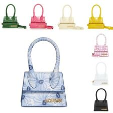 Crossbody Bags Small Pu Handbag Tot New ListingJacquemus Brand Women's Bag Leather Designer