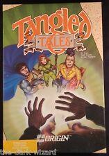 Tangled Tales - Commodore 64 C64- *CIB* Complete Origin (1989)