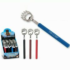"""Retractable Bear Claw Back Scratcher USA Seller Metal Extendable to 22"""" Gift"""