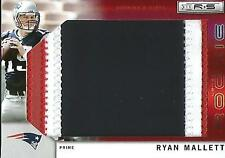 Ryan Mallett 2011 Panini Rookies & Stars Game Used Jersey Patch Rookie #3/5