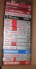 17 New Games Atari 2600 7800 Ms Pacman Defender Moon Patrol Joust pole Position