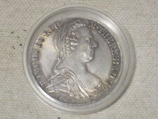 antique silver coin 1780  Theresia S.F. old money MARIA THERESA SILVER THALER