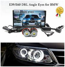 Error Free 80W LED Angel Eyes Halo Ring Bulbs High Power For CREE BMW E39/E60