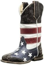 Roper Kids  Square Toe Americana Western Boot (Toddler/Little- Pick SZ/Color.