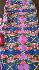 LuLaroe TC Leggings Navy Red Gold  NWT A must see!!!
