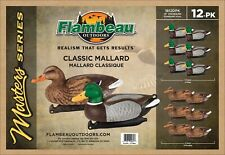 Flambeau Duck Decoys Classic Mallard Floater 6 Drakes 6 Hens New In Box