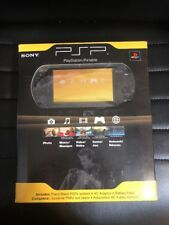 Sony PSP 2000 2001PB 98510 Launch Edition 64MB Piano Black Handheld System New