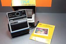 Vintage Kodak EK4 Instant Camera In Original Box with Instructions