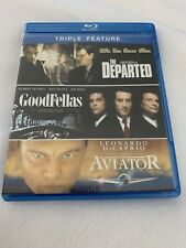 Departed/Goodfellas/Aviat or (Blu-ray, 2012, 3-Disc Set)