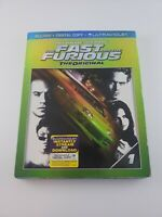 THE FAST AND THE FURIOUS THE ORIGINAL BLURAY PAUL WALKER